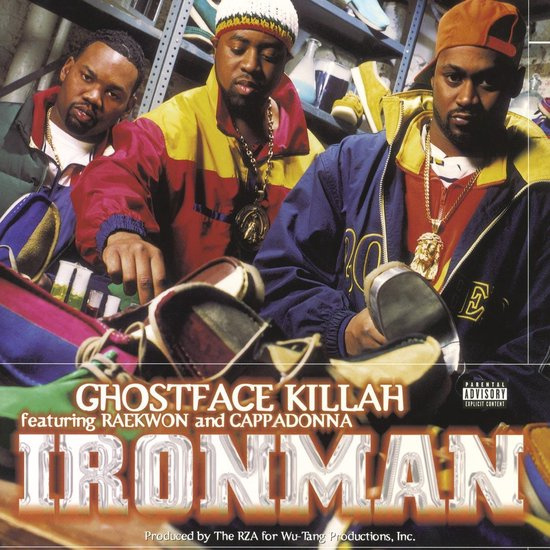 Ghostface Killah Ironman 2LP