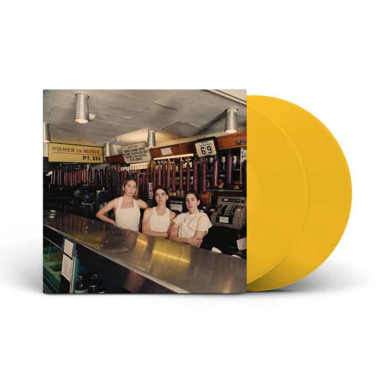 Haim Women In Music Pt. Iii 2LP - Yellow Vinyl-