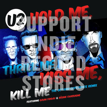 U2 Hold Me Thrill Me Kiss Me Kill Me 12""