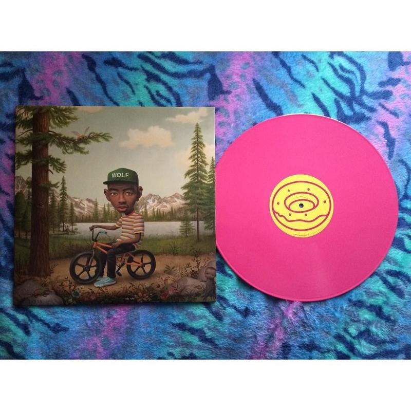 Tyler The Creator FLower Toy 2LP + CD - Pink Vinyl-