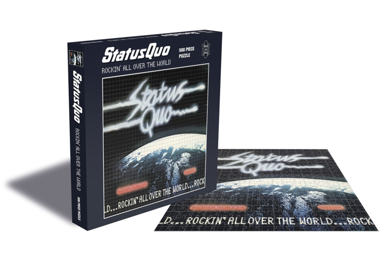 Status Quo Rockin A Over The World Puzzel
