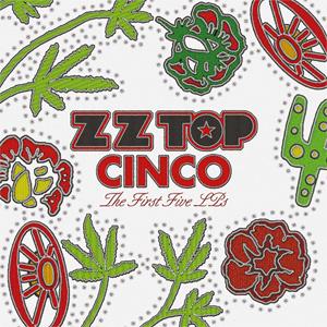 ZZ Top Cinco: The First Five LPs 180g 5LP Box Set