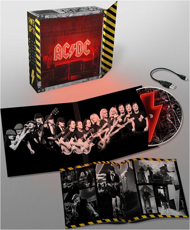 Ac/Dc Power Up CD Box