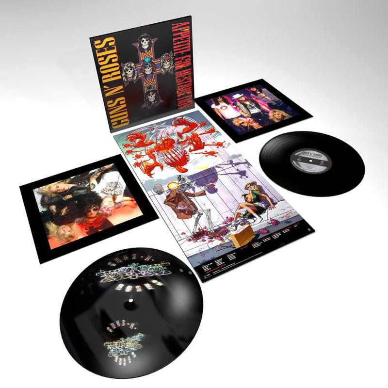Guns N`Roses Appetite For Destruction 2LP
