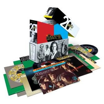 "The Doors The Singles 45rpm 7"" Vinyl 20 Singles Box Set"