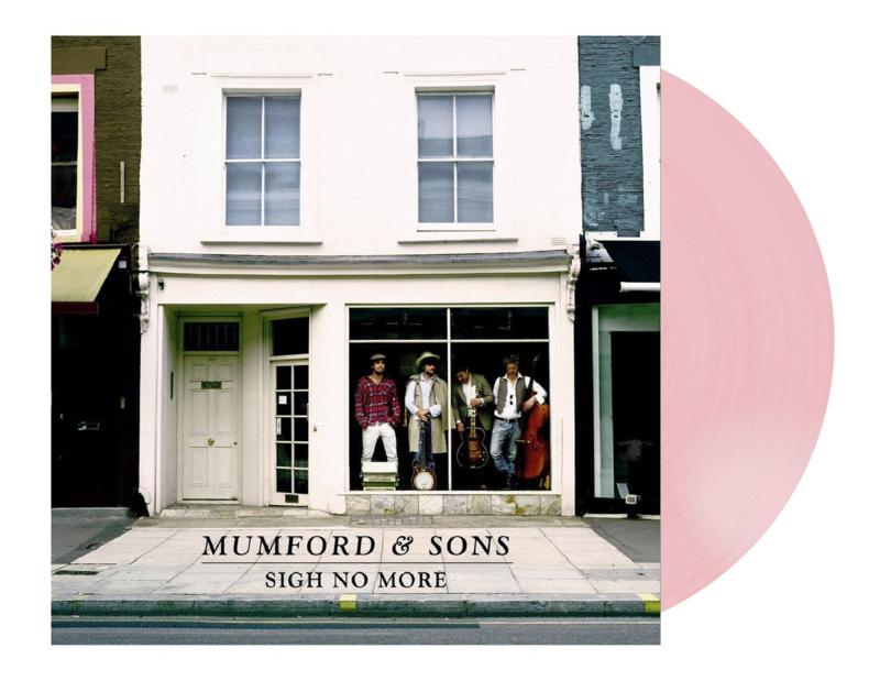 Mumford & Sons  Sign No More LP - Pink Vinyl -