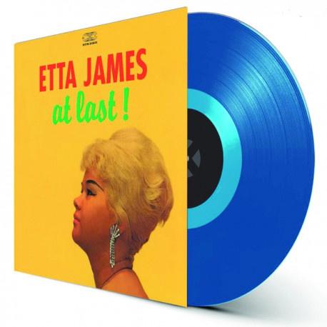Etta James At Last! LP -Blue Vinyl-