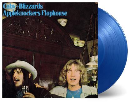 Cuby & The Blizzards Appelknockers Flophouse LP - Blue Vinyl-