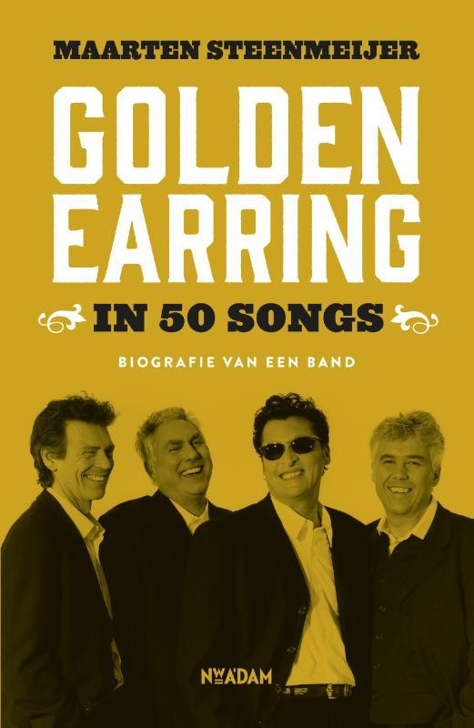Golden Earring in 50 songs Boek