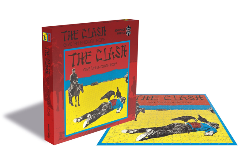 The Clash Give Em Enough Rope Puzzel