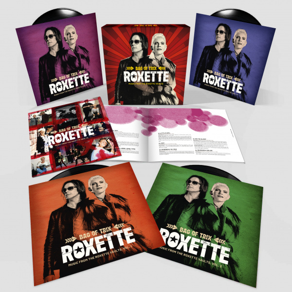 Roxette Bag Of Trix Music From The Vaults 4LP