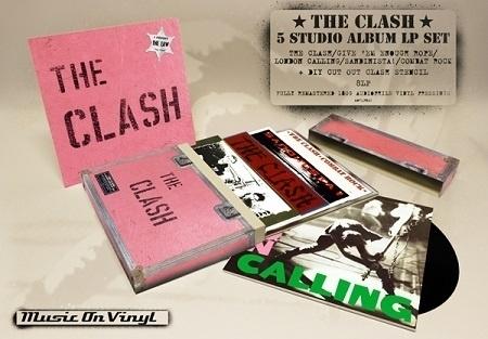 The Clash - Box Set 8LP