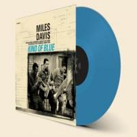 Miles Davis Kind Of Blue LP Blue Vinyl
