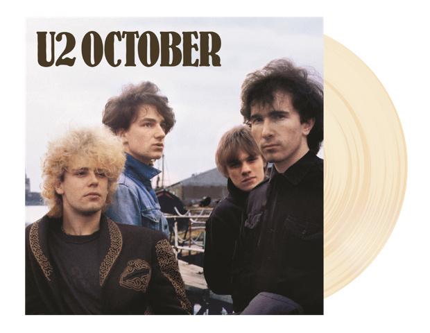 U2 October 180g LP - Cream Vinyl-