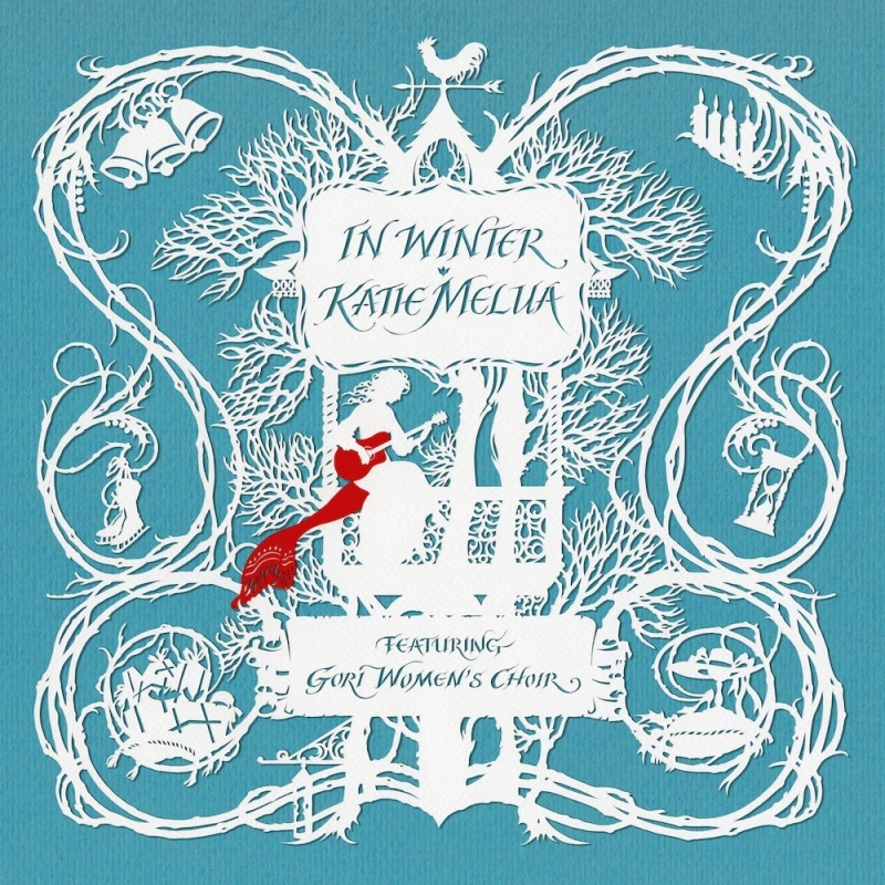 Katie Melua In Winter LP - White Vinyl-