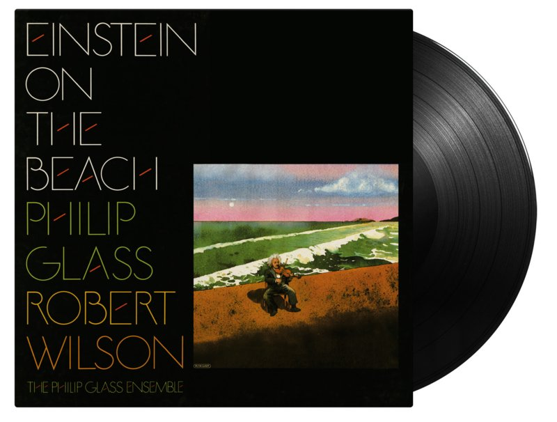Philip Glass and Robert Wilson Einstein On The Beach 4LP