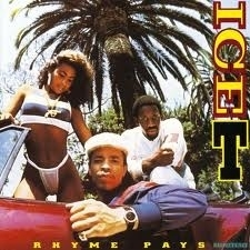 Ice-T - Rhyme Pays LP