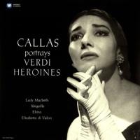 Maria Callas Callas Portrays Verdi Her LP
