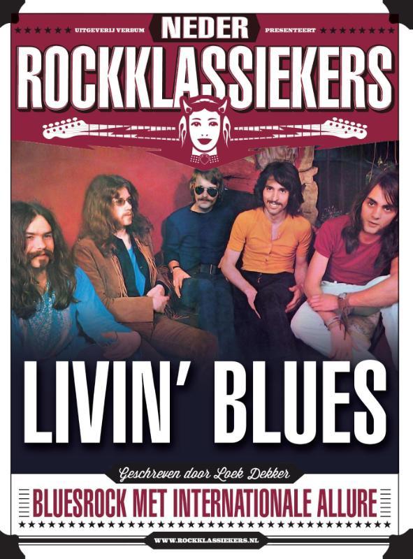 Livin' Blues bluesrock met internationale allure Boek