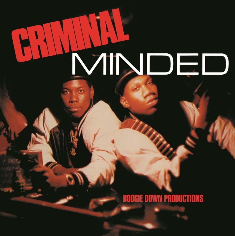 Boogie Down Productions Criminal Minded 2LP