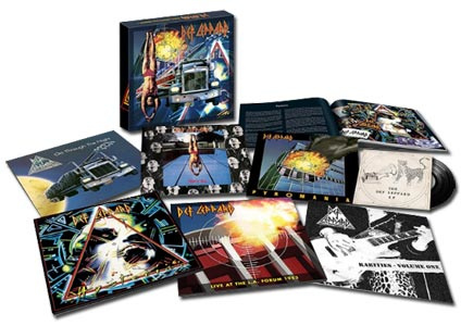 Def Leppard The Vinyl Collection: Volume One 7LP Box Set