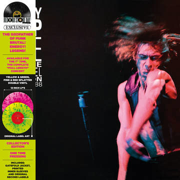 Iggy Pop  Live At The Channel Boston 2LP