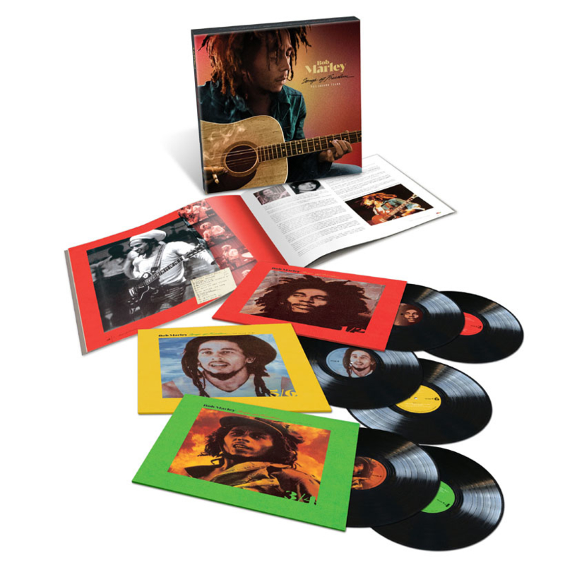 Bob Marley & The Wailers Songs Of Freedom: The Island Years 6LP Box Set