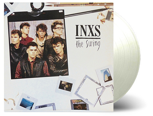 INXS The Swing LP - Clear Vinyl -