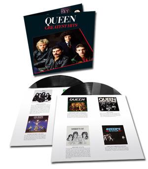 Queen Greatest Hits 2LP