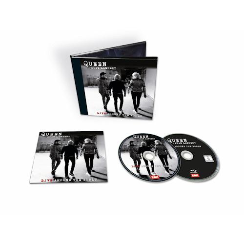 Queen & Adam Lambert Live Around The World Half-Speed Mastered CD + DVD