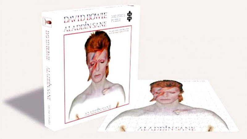 David Bowie Alladdin Sane Puzzel