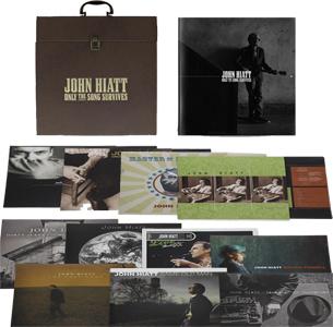 John Hiatt Only the Song Survives 180g 15LP Box Set