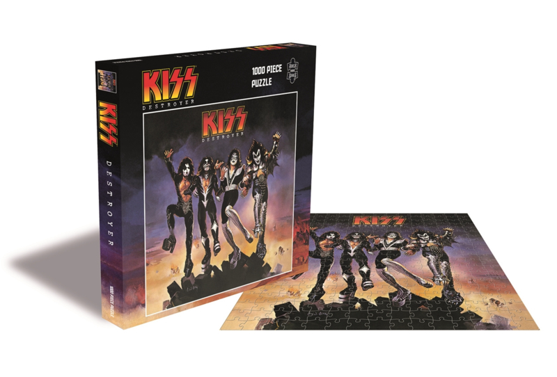 Kiss Destroyer Puzzel