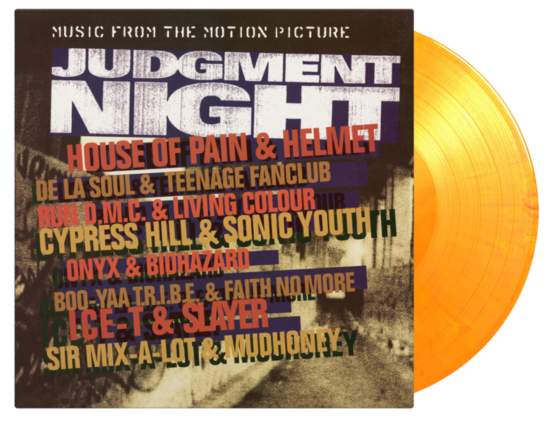 Judgment Night LP - Yellow Vinyl