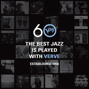 Verve 60: The Best Jazz Is Played With Verve Established 1956 180g 3LP Box Set