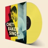 Chet Baker Sings LP - Yellow Vinyl