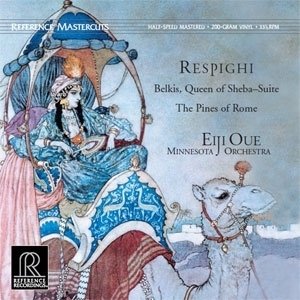 Respighi - Queen Of Sheba & The Pines Of Rome HQ LP