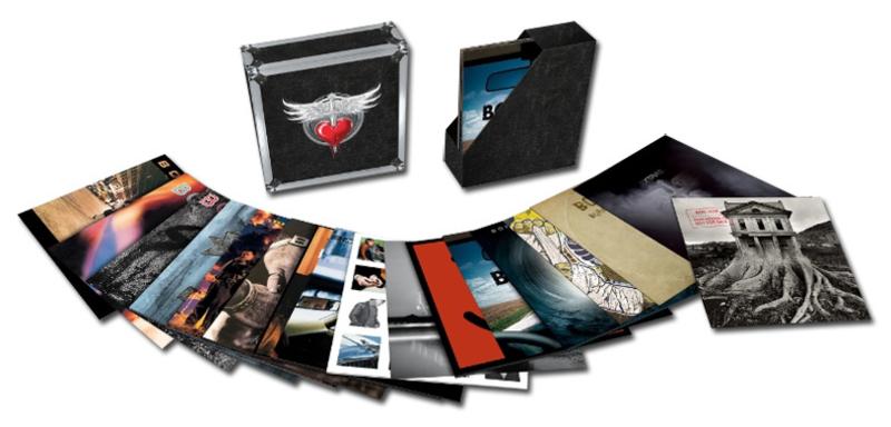 Bon Jovi The Albums 180g 25LP Box Set