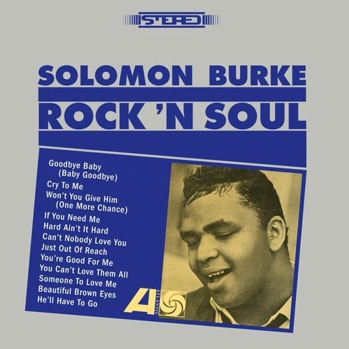 Solomon Burke Rock 'n Soul LP