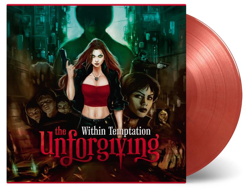 Within Temptation Unforgiving 2LP - Red Vinyl-