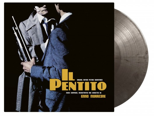 Ennio Morricone Il Pentiro LP - Silver Vinyl-