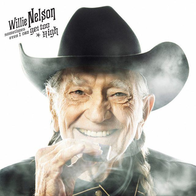 """Willie Nelson Sometimes Even I Can Get Too High b/w """"It's All Going To Pot (w/ Merle Haggard)"""""""