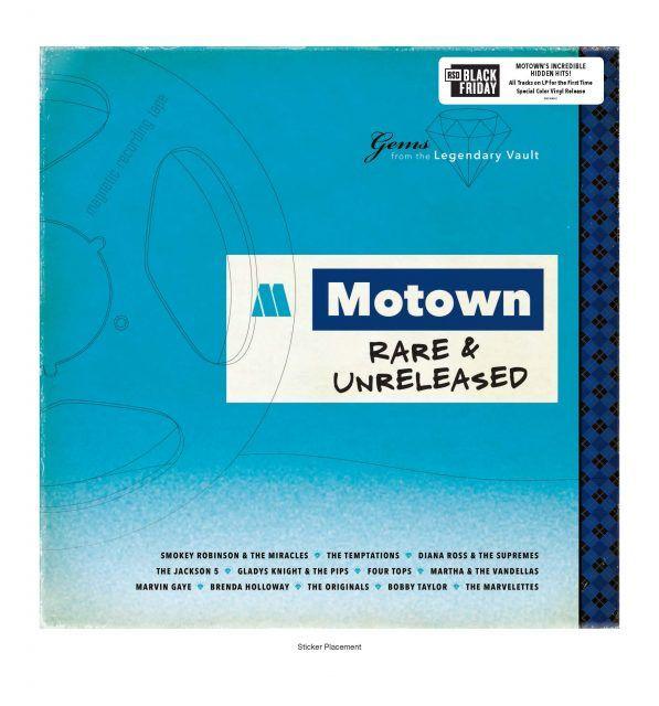 Motown Rare & Unreleased LP