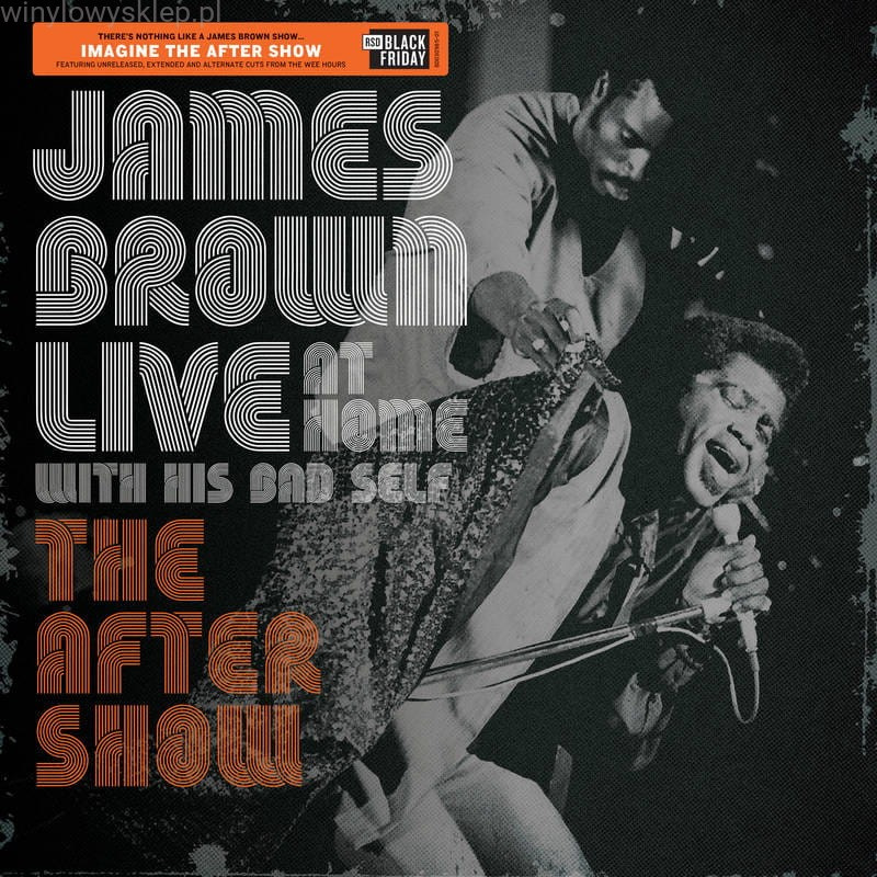 James Brown Live The After Show LP