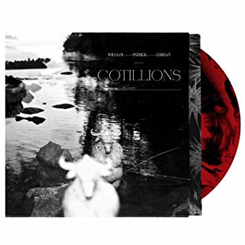 William Patrick Corgan Cotillions LP - Red Black Marble-