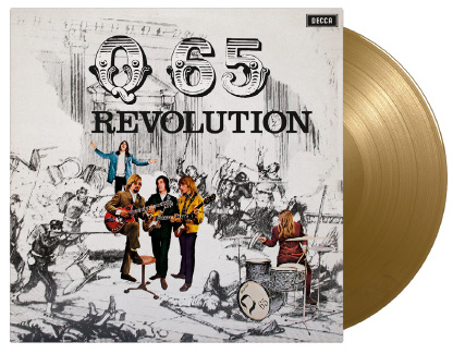 Q 65 Revolution LP - Gold Vinyl-