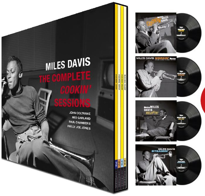 Miles  Davis Complete Cookin' Sessions 4LP