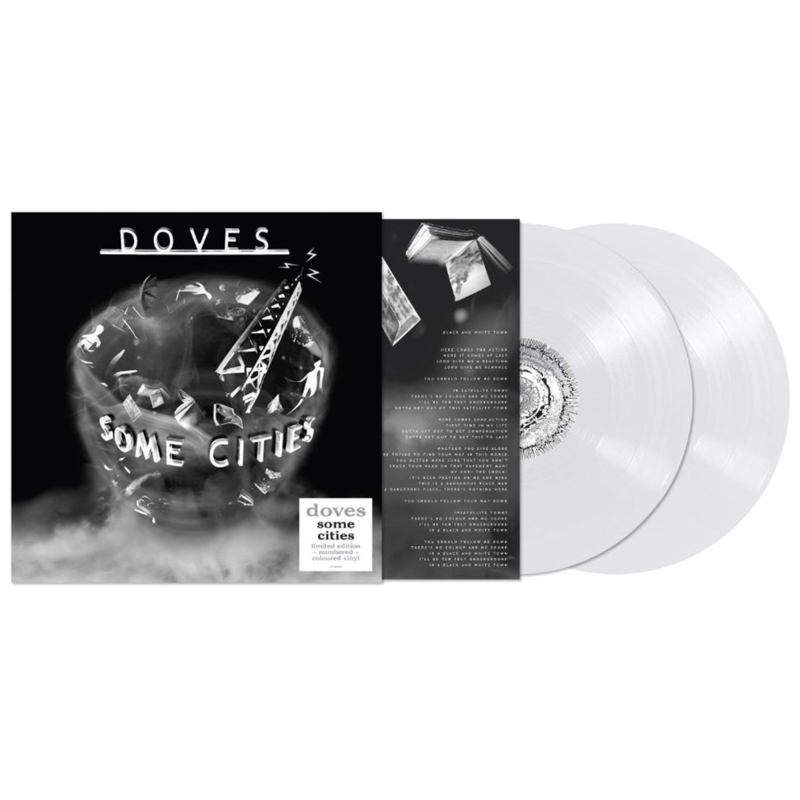 Doves Some Cities 2LP - White Vinyl-