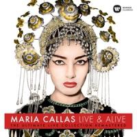 Maria Callas Live And Alive LP