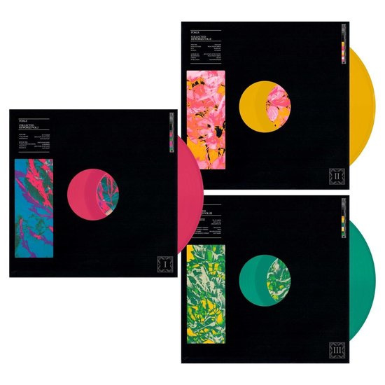 Foals Collected Reworks 3LP - Coloured Vinyl-